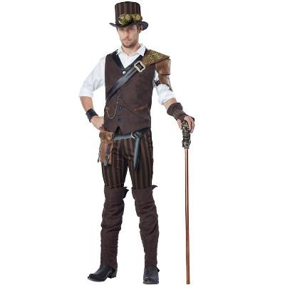 California Costumes Steampunk Adventurer Adult Costume