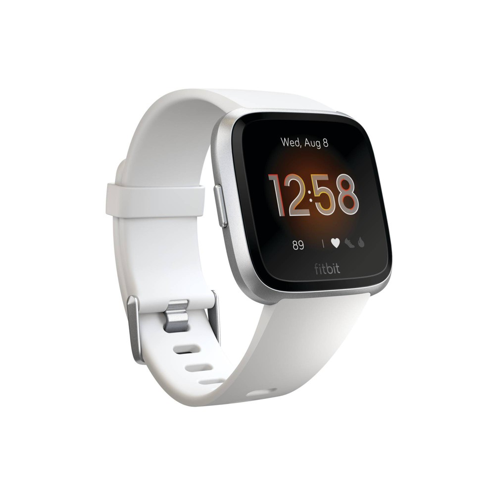 Fitbit Versa Lite Smartwatch with Small & Large Band - White