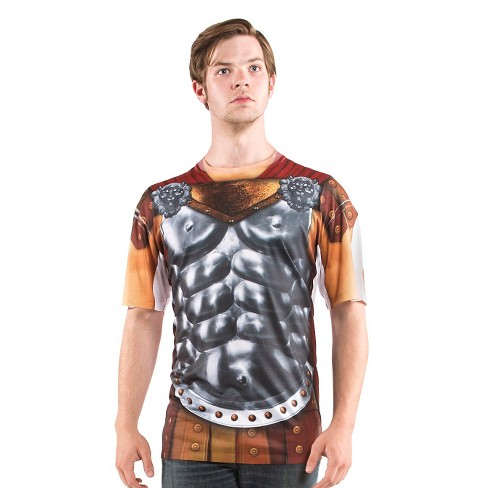 Men's Gladiator Costume Shirt - image 1 of 1
