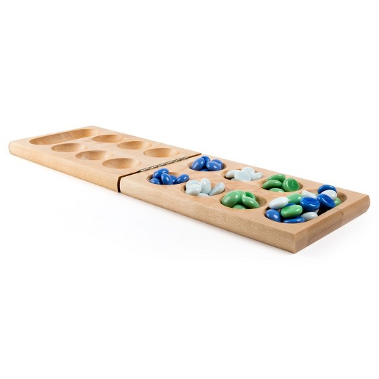 Game Gallery Solid Wood Mancala, Adult Unisex image number null