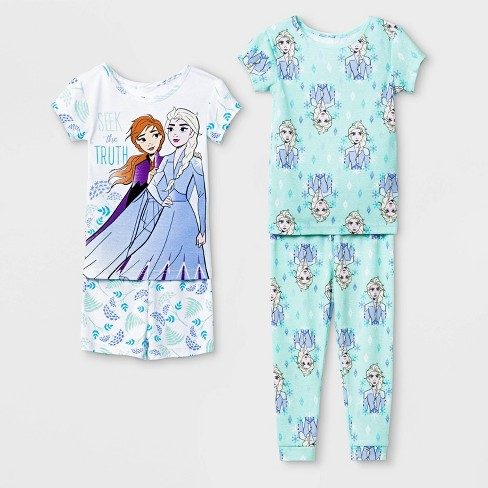 Disney Toddler Girls Frozen Woven Short Set