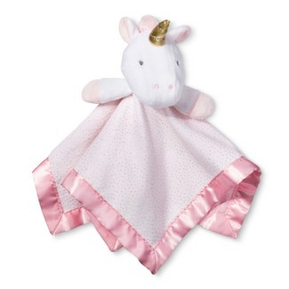 Small Security Blanket Unicorn - Cloud Island™  Light Pink