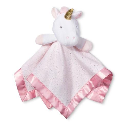 Small Security Blanket Unicorn - Cloud Island™ Light Pink   Target 1b3d92978