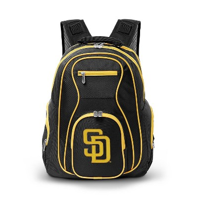 MLB San Diego Padres Colored Trim Laptop Backpack