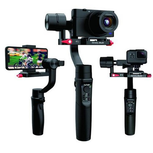 Hohem Isteady Multi 3-Axis Handheld Stabilizing Gimbal for Compact Digital Camera - image 1 of 3
