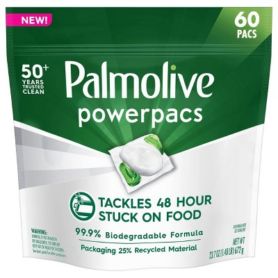 Palmolive PowerPacs Dishwasher Pods - 60ct