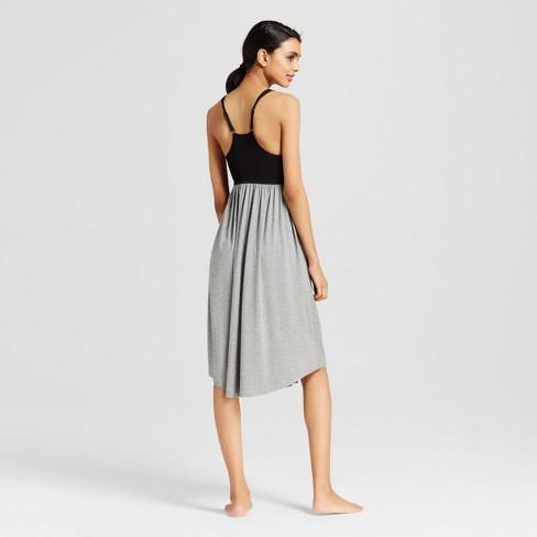 Women s Pajama Seamless Total Comfort Nightgown - Gilligan   O Malley™ Heather  Gray   Target 62670798e