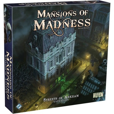Fantasy Flight Games Mansions of Madness: Streets of Arkham Expansion