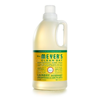 Mrs. Meyer's Honeysuckle Scented Laundry Detergent - 64 fl oz