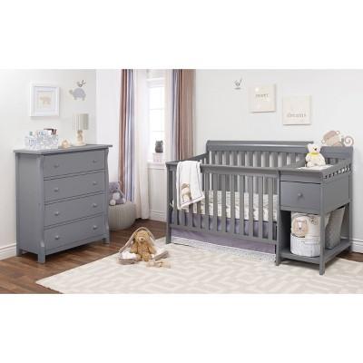 Sorelle Florence Crib & Changer Gray