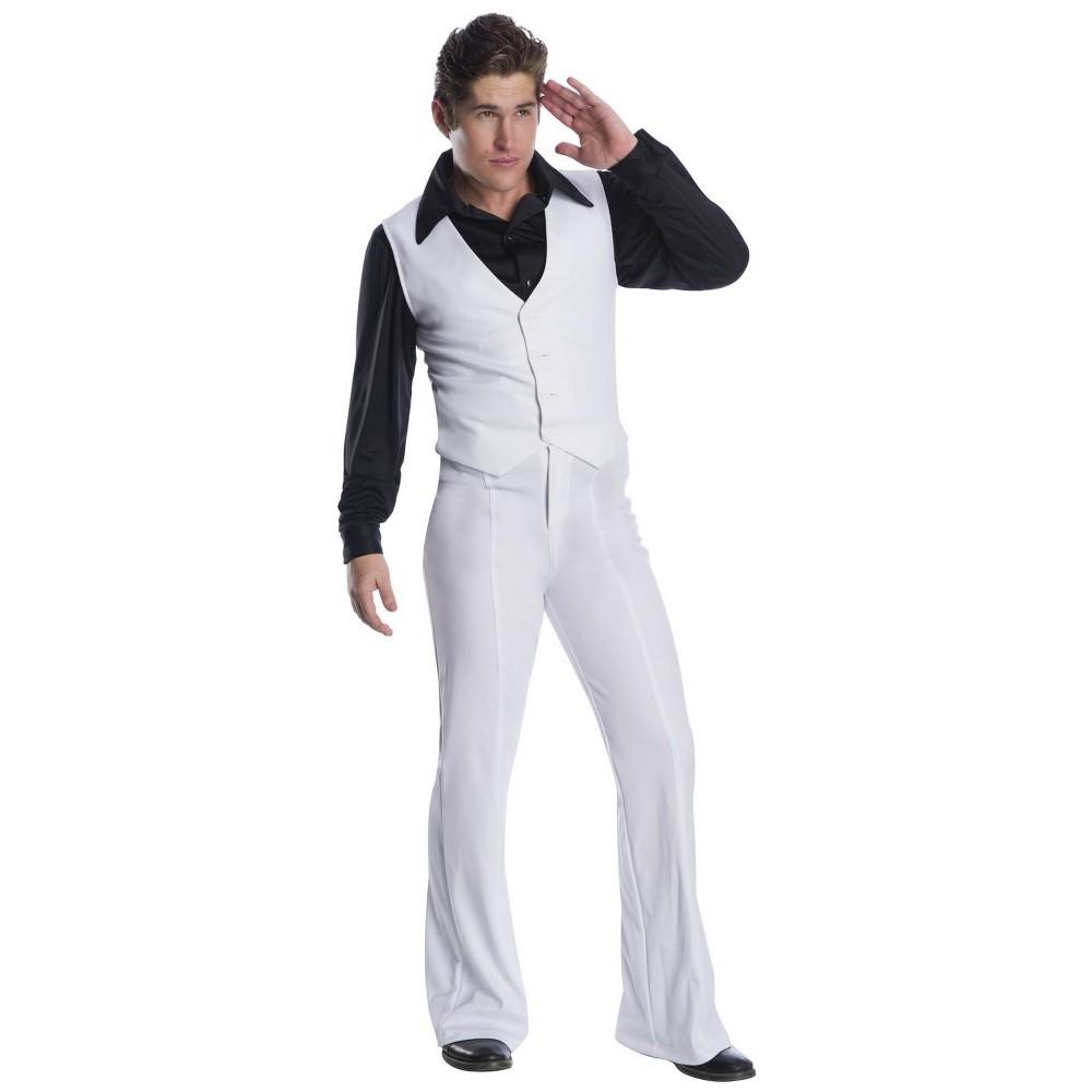 Image of Halloween Men's Disco King Halloween Costume XS, Size: XS, MultiColored