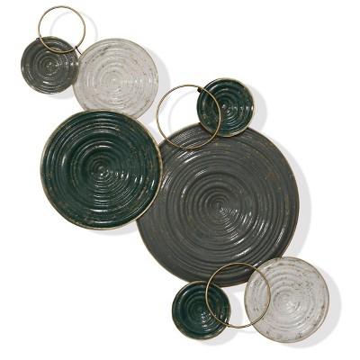 Metal Rings Of Alloy Wall Art - StyleCraft