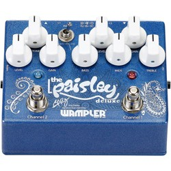 Wampler Paisley Deluxe Overdrive Effects Pedal