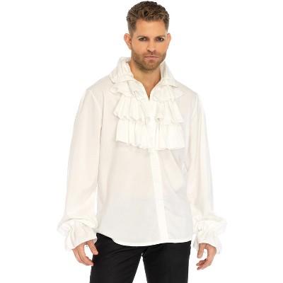 Leg Avenue Ruffle Front Shirt Adult Costume