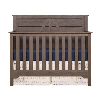 Forever Eclectic Woodland 4-in-1 Convertible Crib - Brushed Truffle