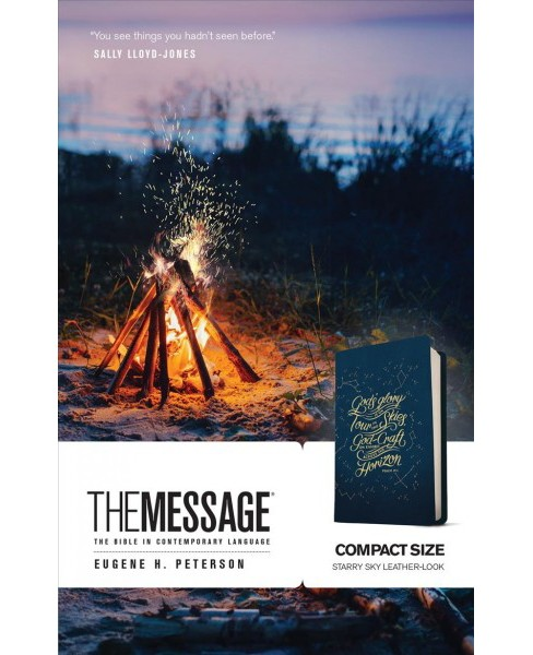 Message The Bible in Contemporary Language : Starry Sky Leather-Look -  Compact (Paperback) - image 1 of 1