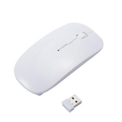 Insten USB 2.4G Wireless Slim Mouse Compatible with Laptop, PC, Computer, MacBook Pro/Air & Gaming