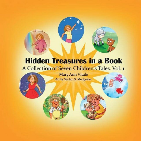 Hidden Treasures in a Book - (Hidden Treasures in a Book.) by  Mary Ann Vitale (Paperback) - image 1 of 1