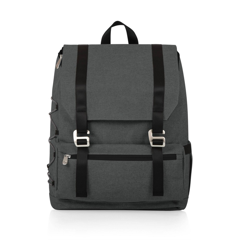 Image of Picnic Time On The Go Traverse Cooler Backpack - Heathered Gray