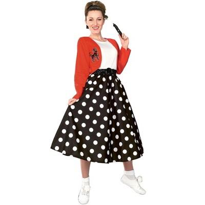 Rubies Polka Dot Rocker Costume for Adult