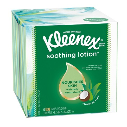 Kleenex Soothing Lotion Facial Tissue - image 1 of 4