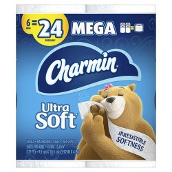 Charmin Ultra Soft Toilet Paper - Mega Rolls