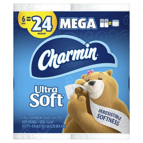 Charmin Ultra Soft Toilet Paper - image 1 of 4