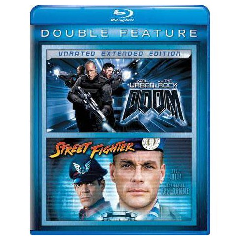 Doom / Street Fighter (Blu-ray) - image 1 of 1