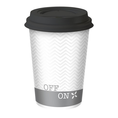 Dixie To Go Assorted Designs Hot Beverage Cups & Lids - 26ct/12oz