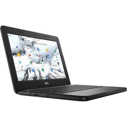 Dell Chromebook 11 3000 3100 11.6 Inch HD 1366 x 768 Intel Celeron N4020 Dual-core, 4GB LPDDR4 16GB Flash, Chrome OS (DFXFX) - image 1 of 4