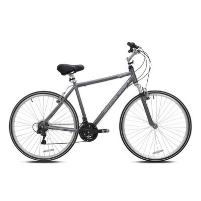 "Kent Men's Ridgeway Sport 700c/28"" Hybrid Bike - Gray"