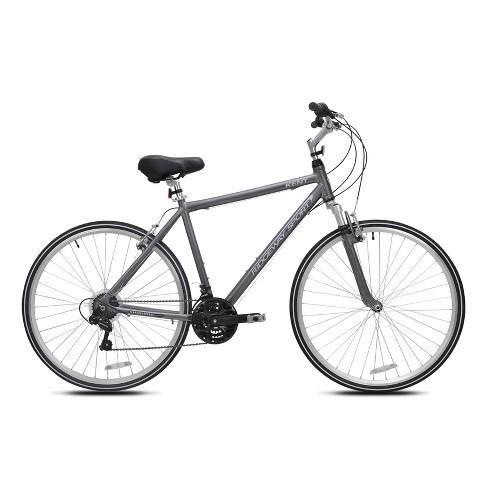 "Kent Men's Ridgeway Sport 700c/28"" Hybrid Bike - Gray - image 1 of 4"