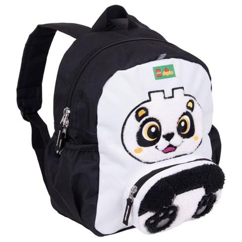 "LEGO DUPLO Block Panda 12"" Backpack - Black - image 1 of 4"