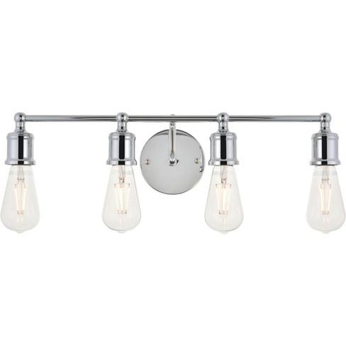 "Elegant Lighting LD4028W22 Serif 4 Light 22"" Wide Bathroom Vanity Light - image 1 of 4"