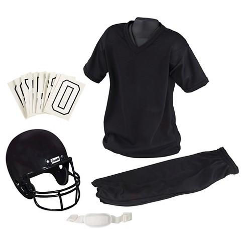 Franklin Sports Youth Medium Football Uniform Set - Black - image 1 of 3