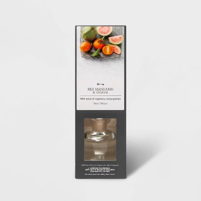 2.02 fl oz Red Mandarin and Guava Oil Reed Diffuser - Threshold™