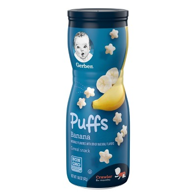 Gerber Puffs Banana - 1.48oz