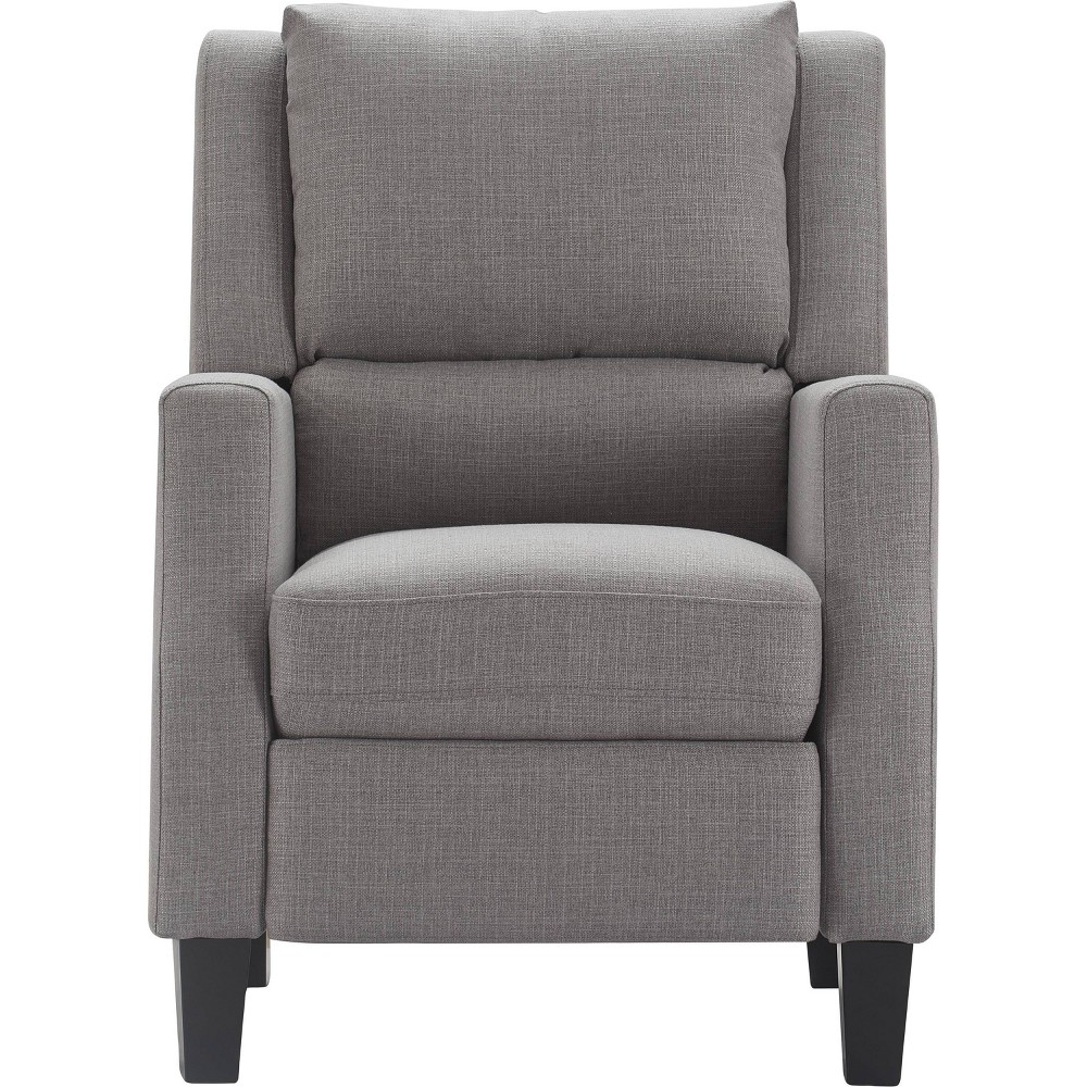 Image of Bristol Push Back Recliner Chair Gray - Click Décor
