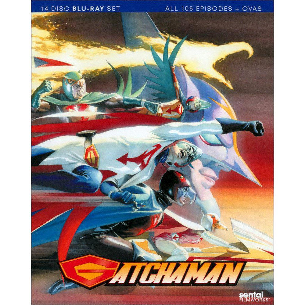 Gatchaman:Complete Collection (Blu-ray)