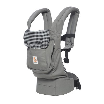 Ergobaby Original Ergonomic Multi-Position - Steel Plaid