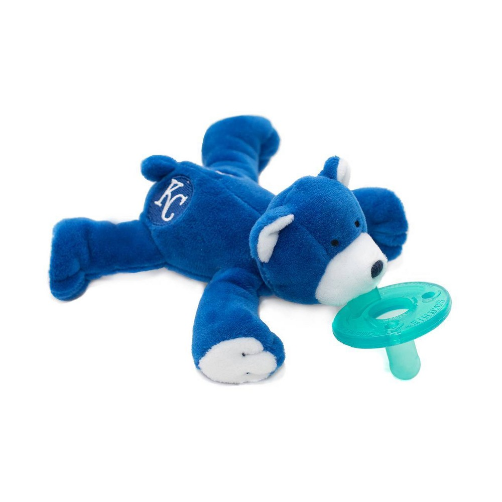 Image of WubbaNub Pacifier - Kansas City Bear
