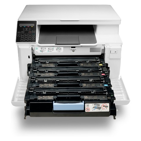 HP Color LaserJet Pro MFP M180nw Laser Printer - White (T6B74A_BGJ)