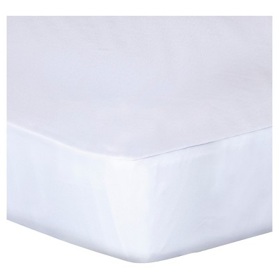 PROTECT-A-BED® Luxury Fitted Sheet Style Mattress Protector - White (King)