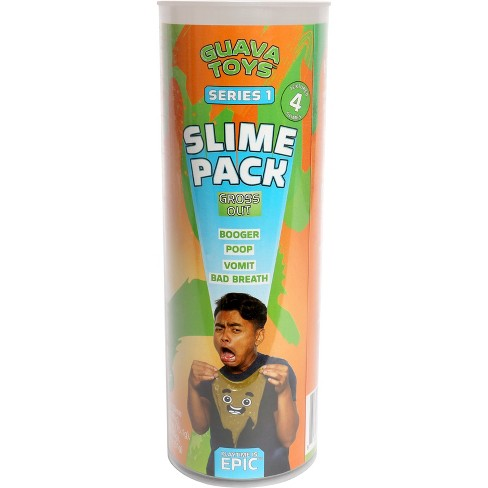 Guava Toys 4pk Collectible Slime - Gross Out - image 1 of 7