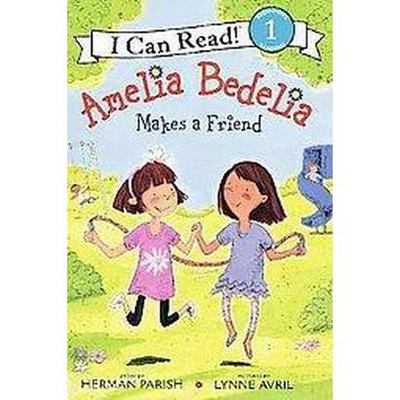 Amelia Bedelia Makes a Friend ( I Can Read! Level 1) (Paperback) by Herman Parish