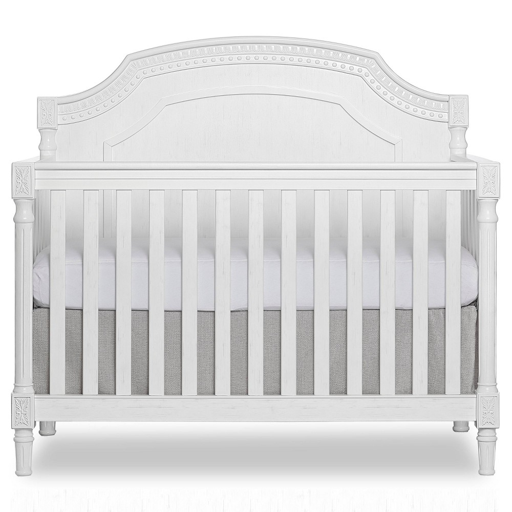 Image of Evolur Julienne 5-in-1 Convertible Crib - Brush White