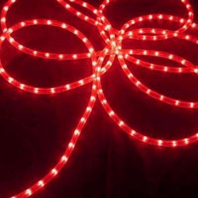 J. Hofert Co Commercial Grade Christmas Rope Light Set White Cord - Red