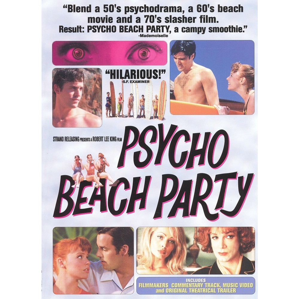 Psycho Beach Party (Dvd), Movies