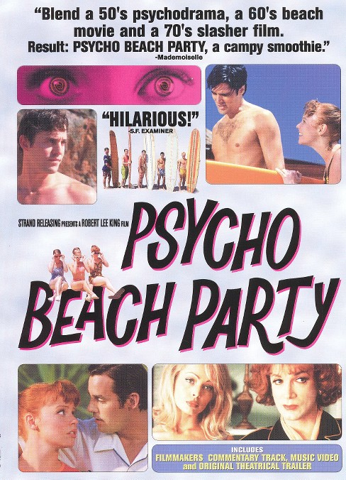 Psycho beach party (DVD) - image 1 of 1