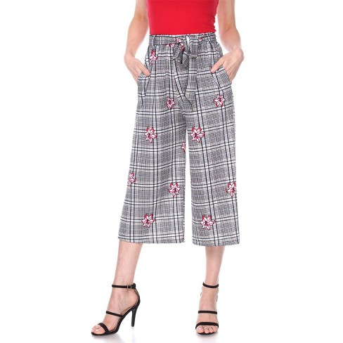 Women's Gaucho Pants - White Mark - image 1 of 3